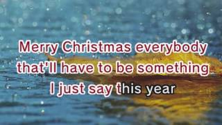 Taylor Swift - Christmases When You Were Mine (Karaoke and Lyrics Version)