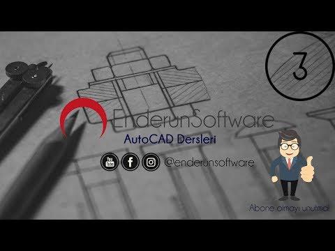 AutoCAD Dersleri-3 Line