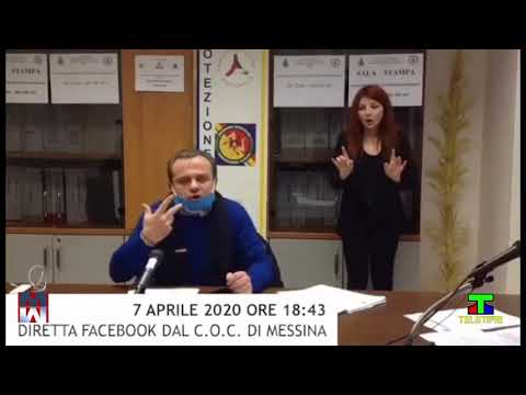 I pensieri del sindaco di Messina Cateno De Luca, sulla emergenza da Covid 19