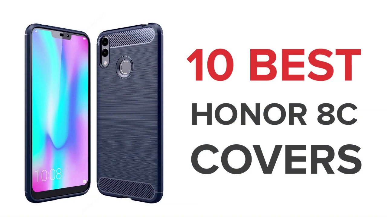 10 Best Covers/Cases for Honor 8c in India with Price