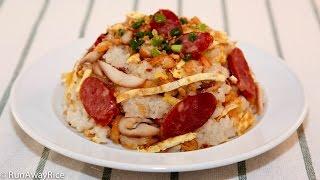 Savory Sticky Rice (Xoi Man)