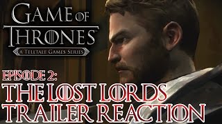 "Game of Thrones Season 1 Episode 2 ""The Lost Lords"" - Trailer Reaction"