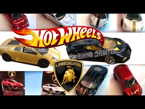 2017 Lamborghini Hot Wheels Series