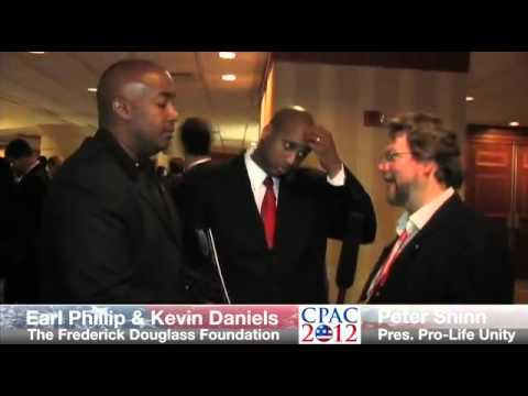 Frederick Douglass Foundation At CPAC 2012 Kevin Daniels & Earl Phillips