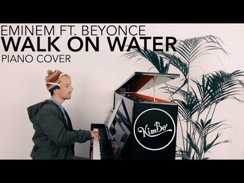 Eminem ft. Beyonce - Walk On Water (Piano Cover) +SHEETS