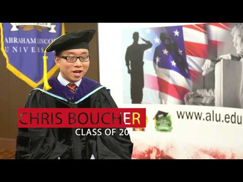 Chris Boucher, Juris Doctor,