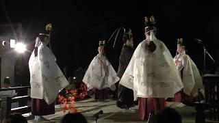 2017.10.4 熱海 伊豆山神社 中秋の名月歌会  源実朝の舞