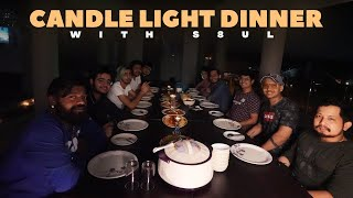 CANDLE LIGHT DINNER WITH S8UL ON TERRACE!