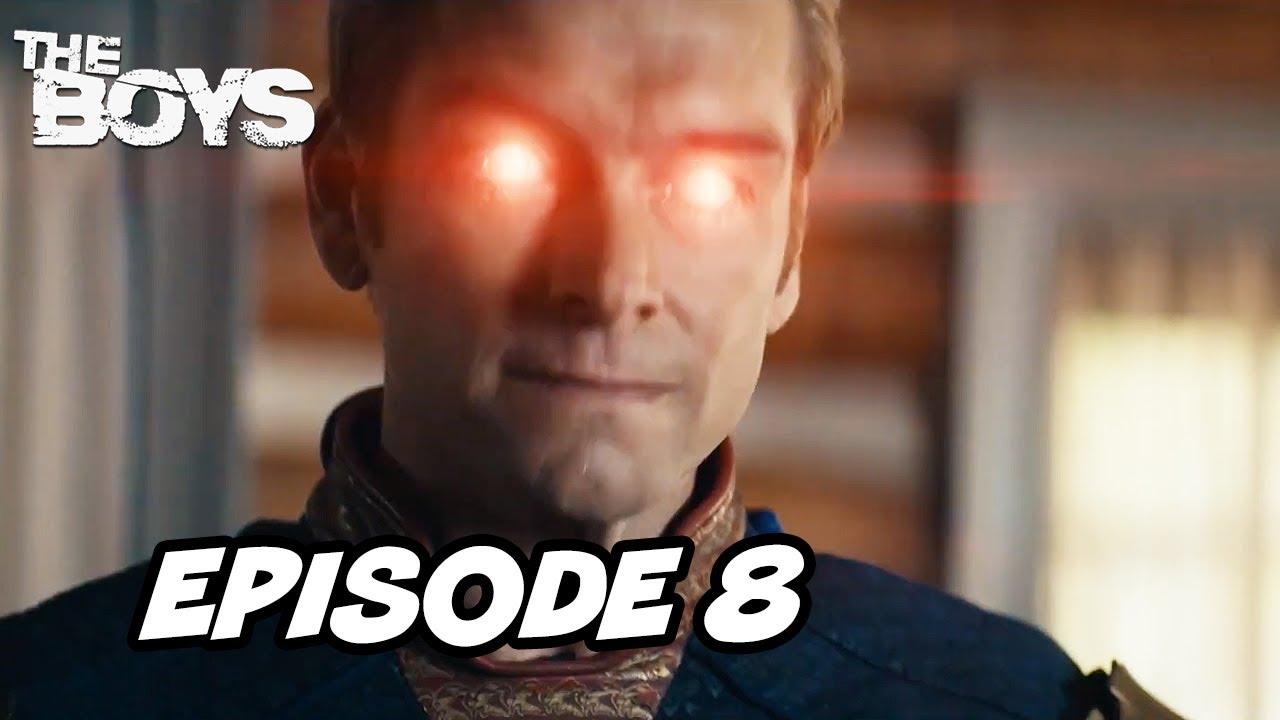 Download The Boys Season 2 Episode 8 Finale - Homelander Stormfront TOP 10 WTF and Easter Eggs
