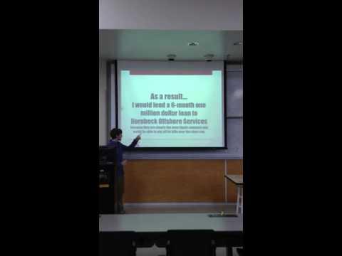 Financial Analysis Project - Finance 381 - Christopher Alexander