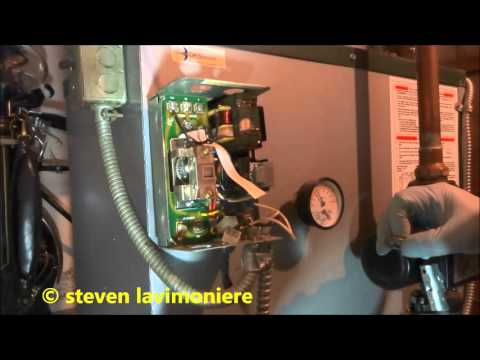 gas fired boiler bad main operating control Honeywell L8148E