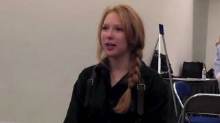 Comic-Con 2011: Molly Quinn Dresses Up As Captain Malcolm Reynolds From Firefly
