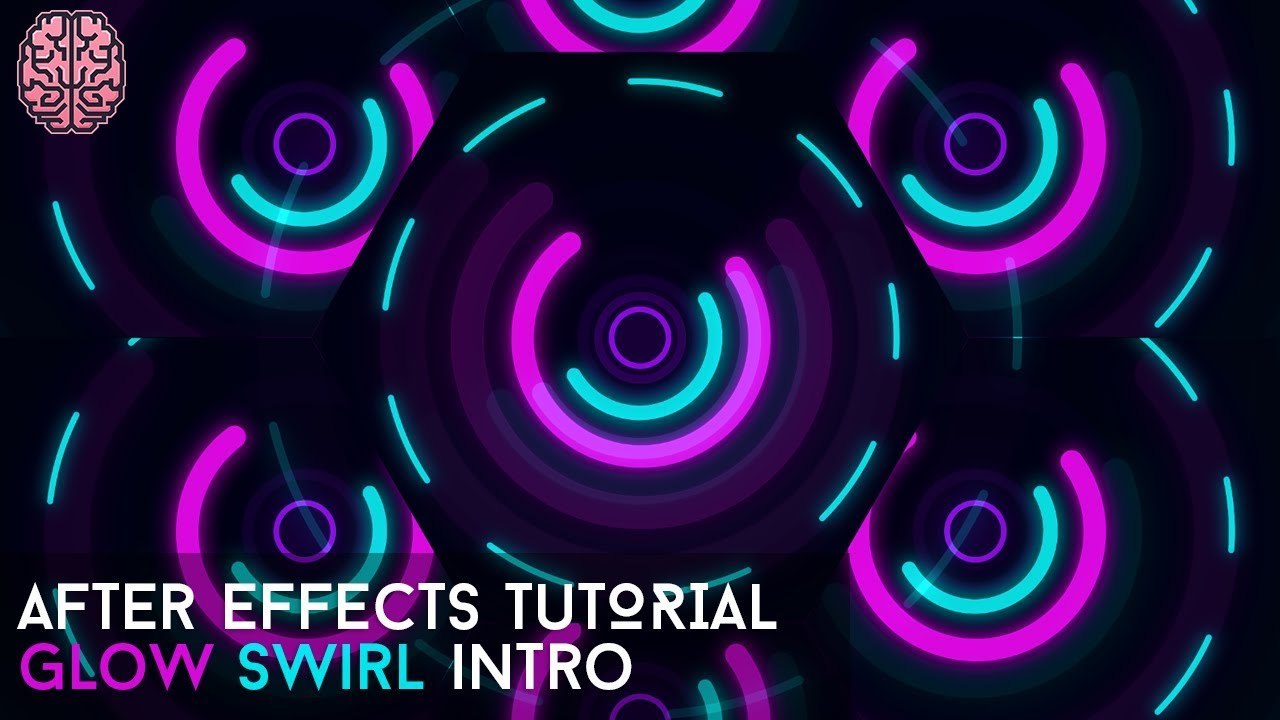 Tutorial: Glow Swirl Intro in After Effects CC   by Qehzy