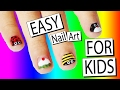 5 Easy Nail Art Designs For Kids | Nailed It NZ