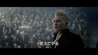 映画『ファンタスティック・ビーストと黒い魔法使いの誕生』コミコン予告編