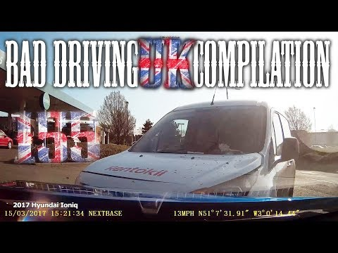 Bad Driving UK Compilation 155