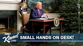 Trump Throws Tantrum from Tiny Desk