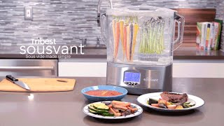 Tribest Sousvant - Sous Vide Made Simple