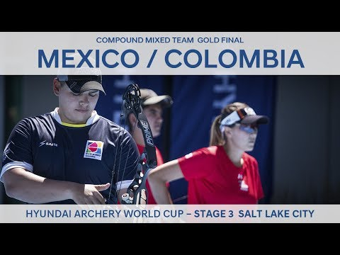 Mexico v Colombia – Compound Mixed Team Gold Final | Salt Lake City 2017