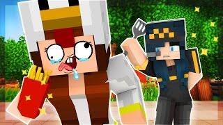 Minecraft McDonalds - THE CRAZY CHICKEN TOILET LADY!!! (Minecraft Roleplay) #2