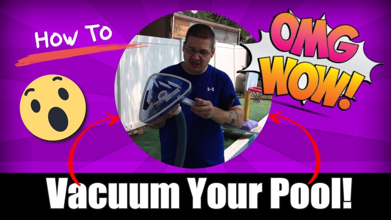 mainstays pool vacuum