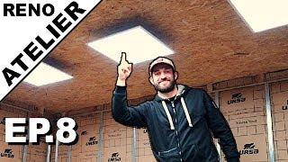 ► Je Rénove l'Atelier //EP.8// Installation Des Panneaux LED