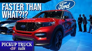 2020 Ford Explorer ST Features, Styling, Performance