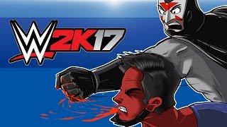 WWE 2K17 - BATMAN VS SUPERMAN! (Cartoonz Vs Delirious) Last Man Standing!
