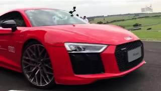 200 Km/h de  Audi R8 V10 Plus/ Vrum Brasília