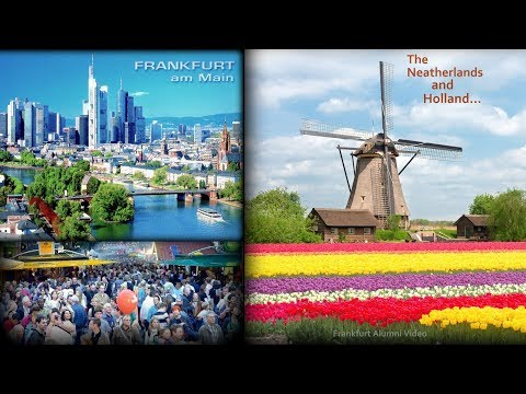 Frankfurt, Germany To Holland: The Cool Sights, The Great Country, and More! (Ep.1/2)
