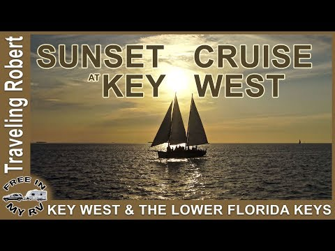 Key West Sunset Cruise - The Lower Keys | Traveling Robert