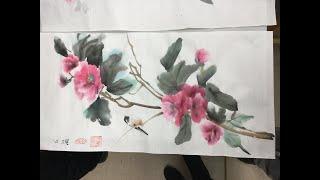 Démonstration d'aquarelle de Thanh Chau