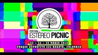Line Up Oficial | Festival Estereo Picnic 2018