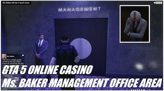 GTA 5 ONLINE CASINO Ms. BAKER MANAGEMENT OFFICE AREA
