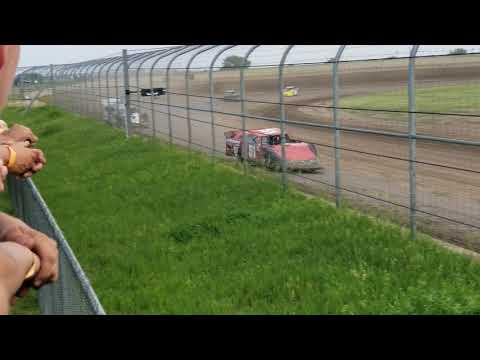 6-8-19 Junction Motor Speedway Late Model Heat Cory Dumpert