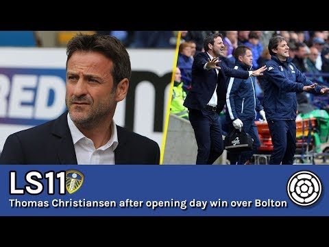 LS11 | Thomas Christiansen after opening day win over Bolton