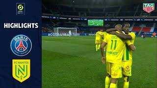PARIS SAINT-GERMAIN - FC NANTES (1 - 2) - Highlights - (PSG - FCN) / 2020-2021