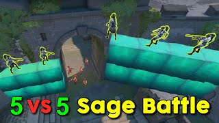 When Sage Meets Sage on Replication (Replication Game Mode Valorant)