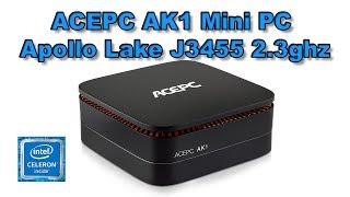 ACEPC AK1 Mini PC Quick Look And PC Games Test Intel J3455 CPU