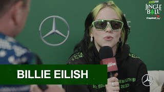 Billie Eilish Talks About Performing At KIIS FM Jingle Ball