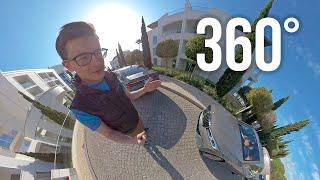 * 360 4K * BMW 7 SERIES 2019 LCI. Тест-драйв и обзор БМВ 7 серии в 360-градусном формате видео!