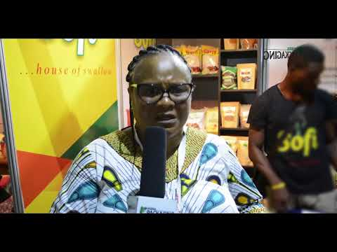 Nigeria Packaging TV: Food West Africa 2017 Interview Gbemisola Oduntan, Managing Director, Seyi