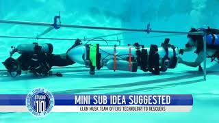Elon Musk Offers Mini-Sub To Assist In Thailand Cave Rescue | Studio 10