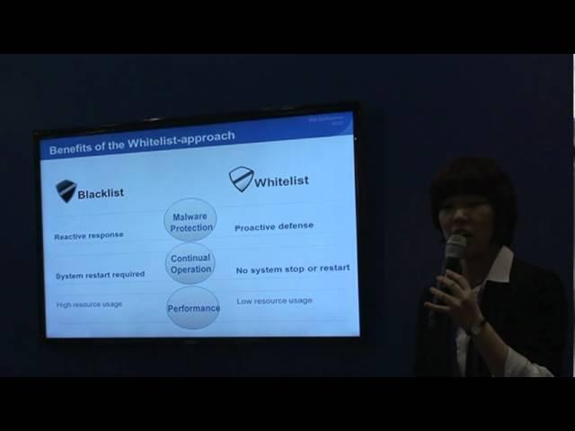 AhnLab at RSA 2012: AhnLab TrusLine