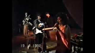 Концерт в армянском театре.Город Тбилиси 19.04.1992г