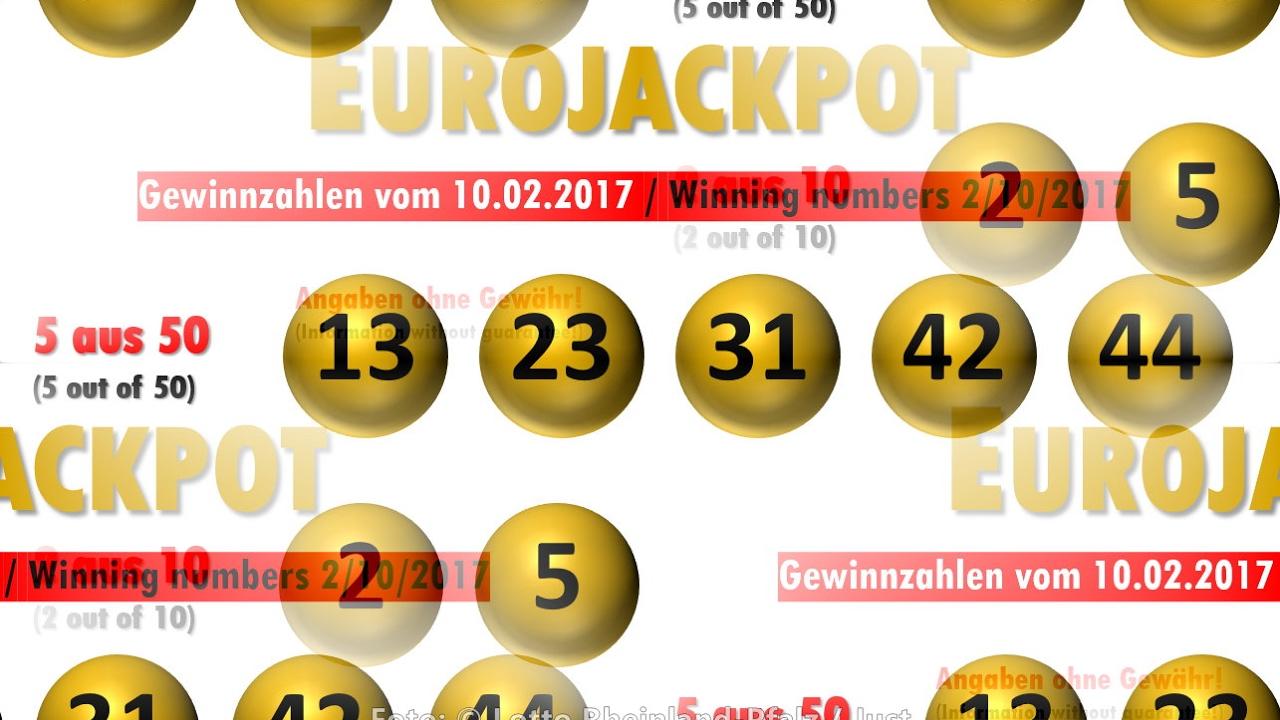 Eurolotto Zahlen Aktuell Ziehung