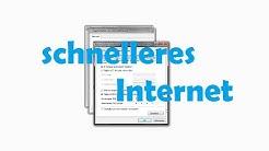 Internet schneller machen [ Tutorial ] german / 1080p / full HD
