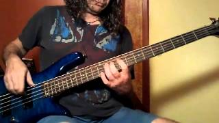 Celine Dion I Drove All Night bass cover by Mike S