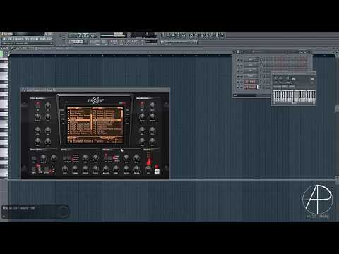 How To Make Martin Garrix & Bebe Rexha - In The Name Of Love Melody Whit FL Studio By Angel Palau