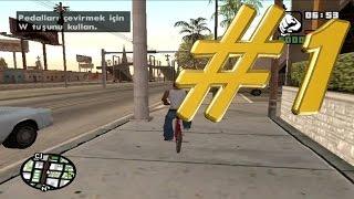 GTA San Andreas - Carl ve çetesi  Bölüm#1